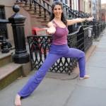 Jennifer Brilliant at her Park Slope yoga studio