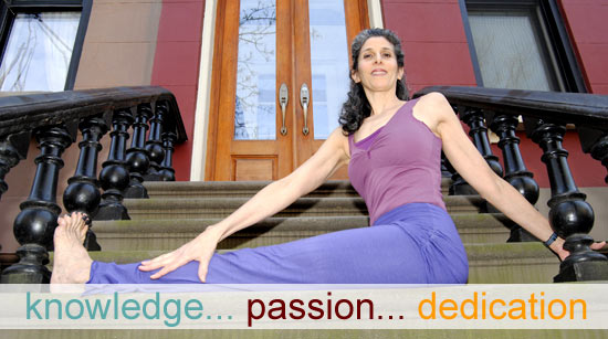 Dandasana Twist - Jennifer Brilliant - knowledge passion dedication